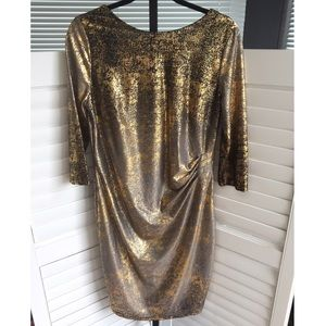 [Cato] NWOT Metallic Shimmer Cocktail Party Dress